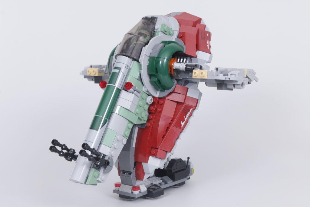 LEGO Star Wars 75312 Boba Fetts Starship review 9