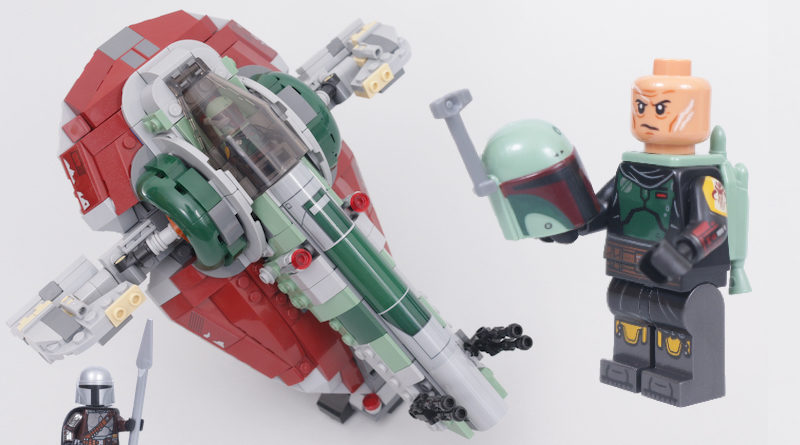LEGO Star Wars 75312 Boba Fetts Starship review title 4