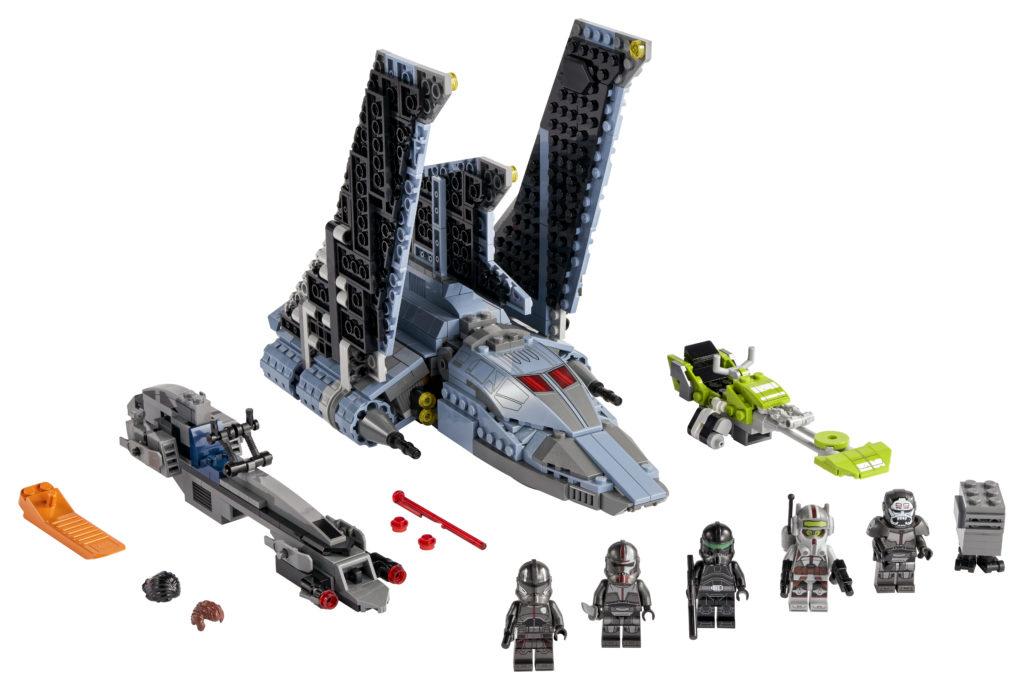 LEGO Star Wars 75314 The Bad Batch Attack Shuttle 1