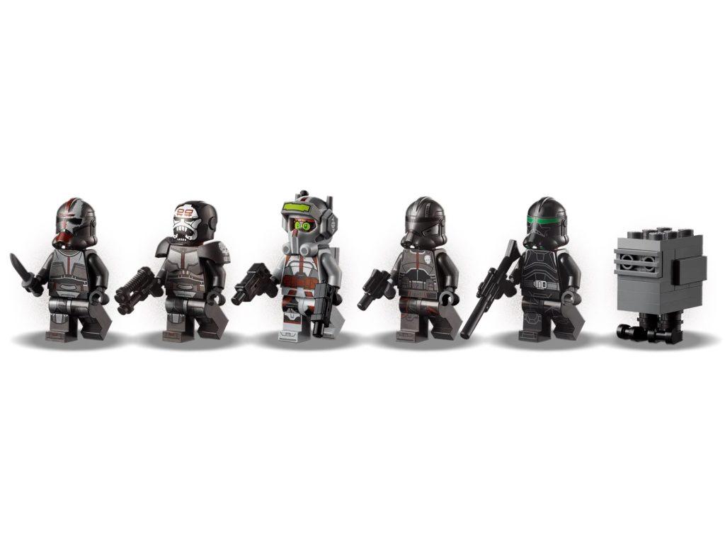 LEGO Star Wars 75314 The Bad Batch Attack Shuttle 11