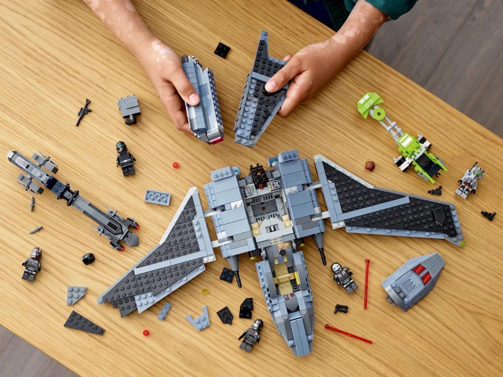 LEGO Star Wars 75314 The Bad Batch Attack Shuttle 13