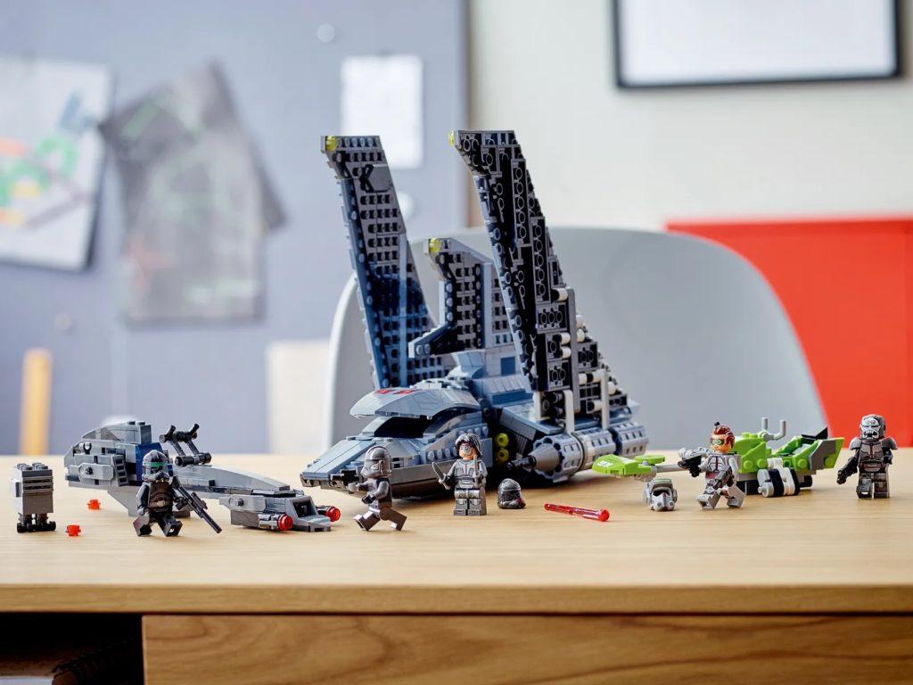 LEGO Star Wars 75314 The Bad Batch Attack Shuttle 14