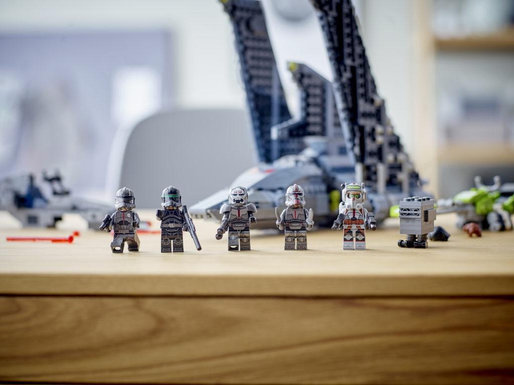 LEGO Star Wars 75314 The Bad Batch Attack Shuttle 2