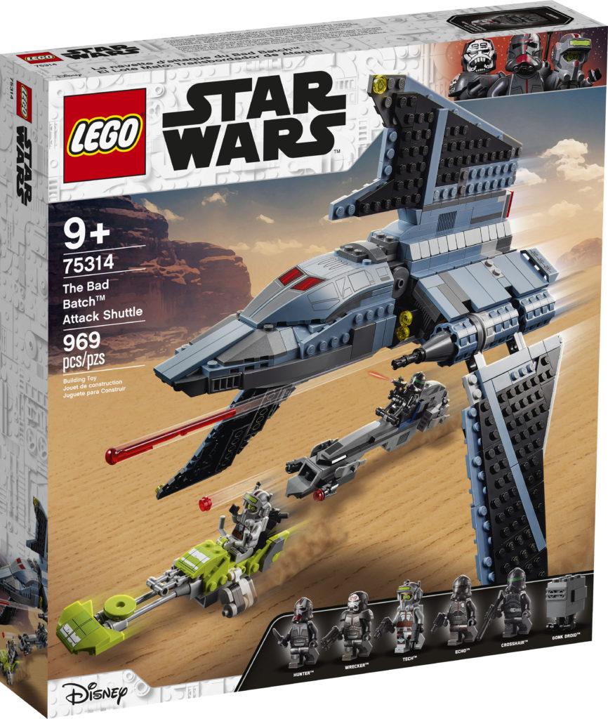 LEGO Star Wars 75314 The Bad Batch Attack Shuttle 3