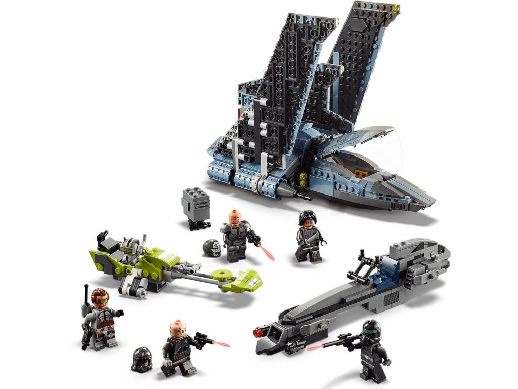 LEGO Star Wars 75314 The Bad Batch Attack Shuttle 5