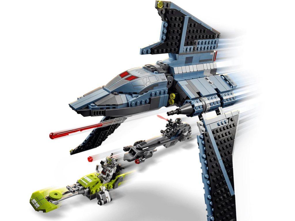 LEGO Star Wars 75314 The Bad Batch Attack Shuttle 6