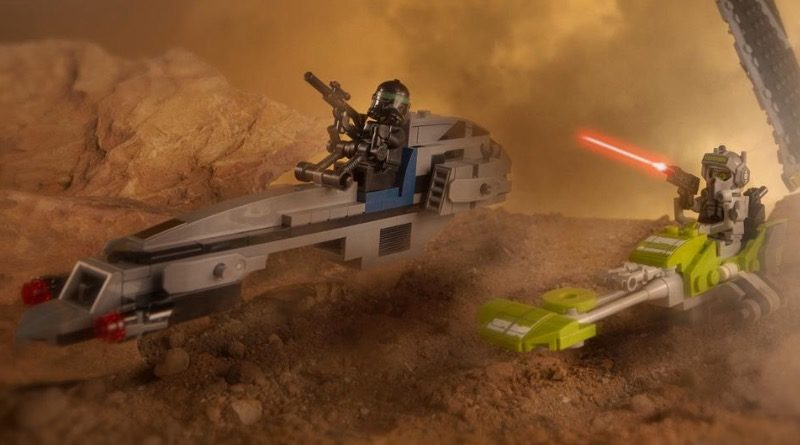LEGO Star Wars 75314 The Bad Batch Attack Shuttle Speeder Bikes Featured 800x445