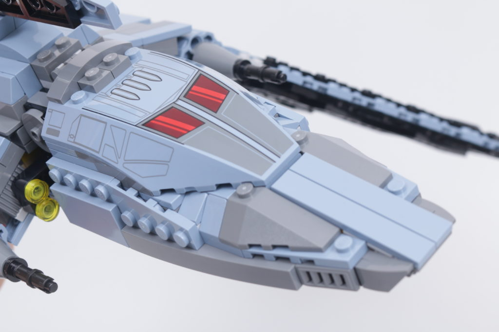 LEGO Star Wars 75314 The Bad Batch Attack Shuttle review