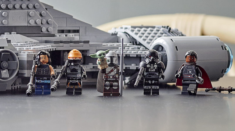 LEGO Star Wars 75315 Imperial Light Cruiser minifigures featured