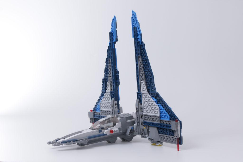 LEGO Star Wars 75316 Mandalorian Starfighter error and fix 1