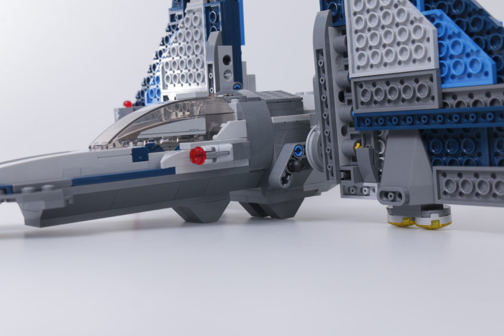 LEGO Star Wars 75316 Mandalorian Starfighter error and fix 3