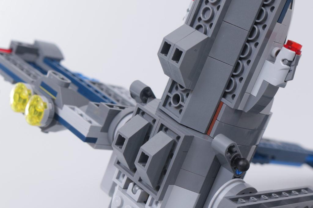 LEGO Star Wars 75316 Mandalorian Starfighter error and fix 4