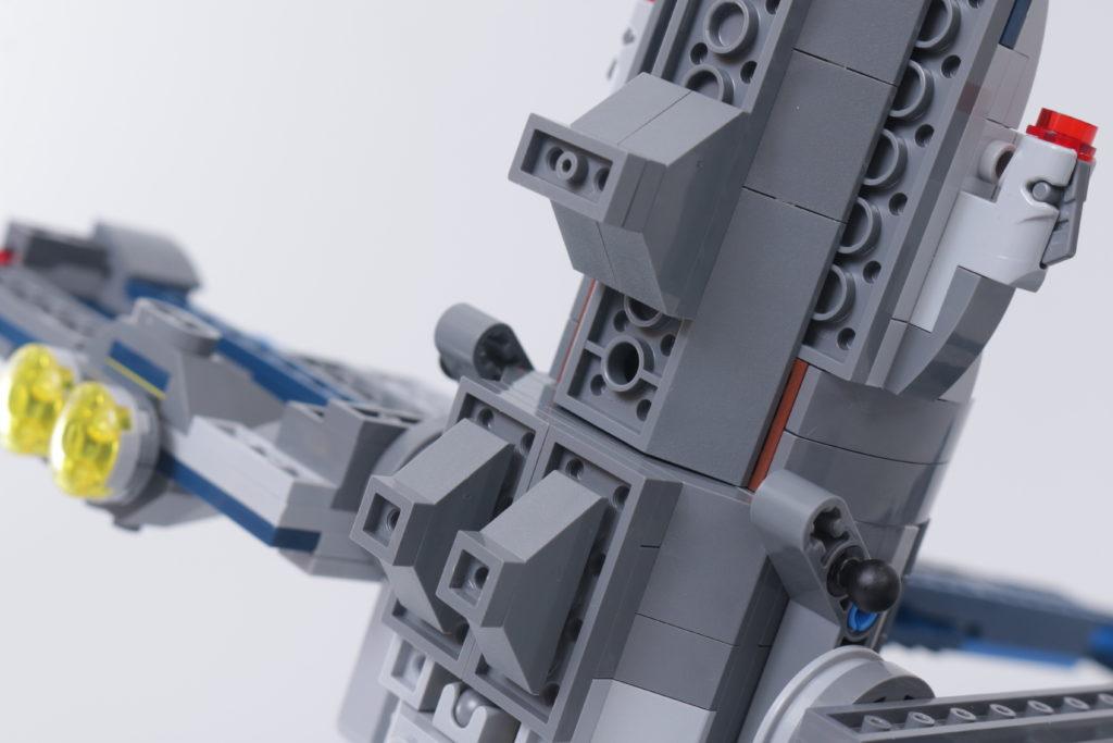 LEGO Star Wars 75316 Mandalorian Starfighter error and fix 5