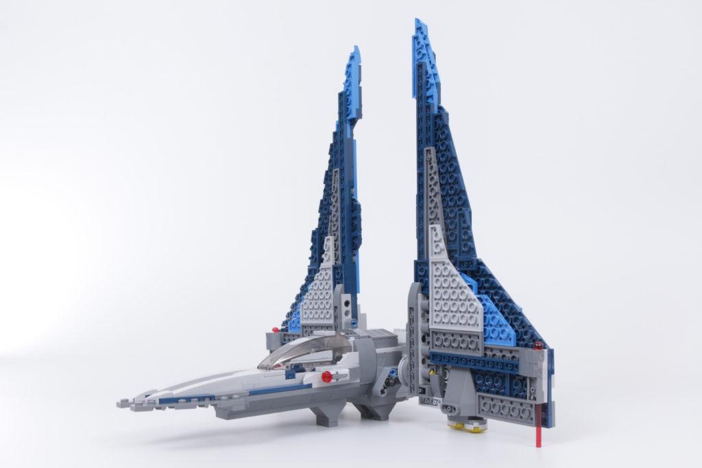 LEGO Star Wars 75316 Mandalorian Starfighter error and fix 6