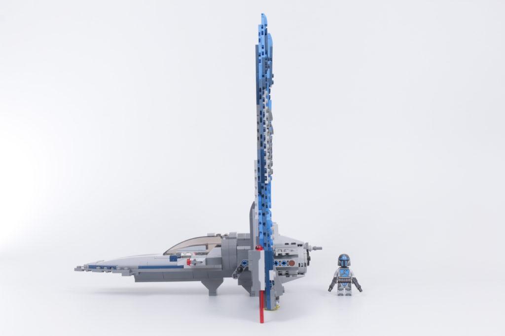 LEGO Star Wars 75316 Mandalorian Starfighter error and fix 7