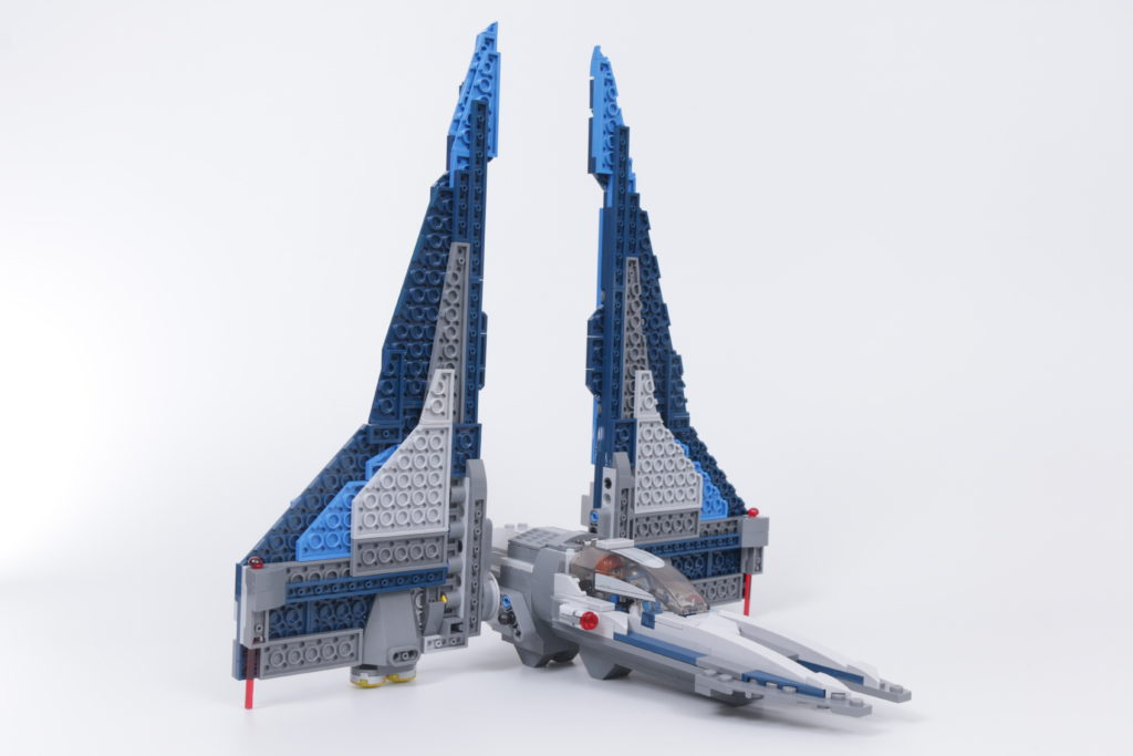 LEGO Star Wars 75316 Mandalorian Starfighter review 11