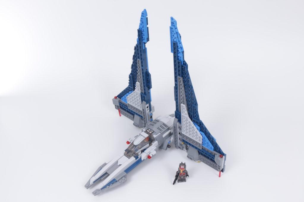 LEGO Star Wars 75316 Mandalorian Starfighter review 12
