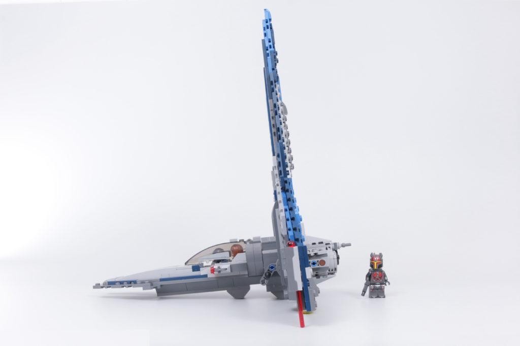 LEGO Star Wars 75316 Mandalorian Starfighter review 13i