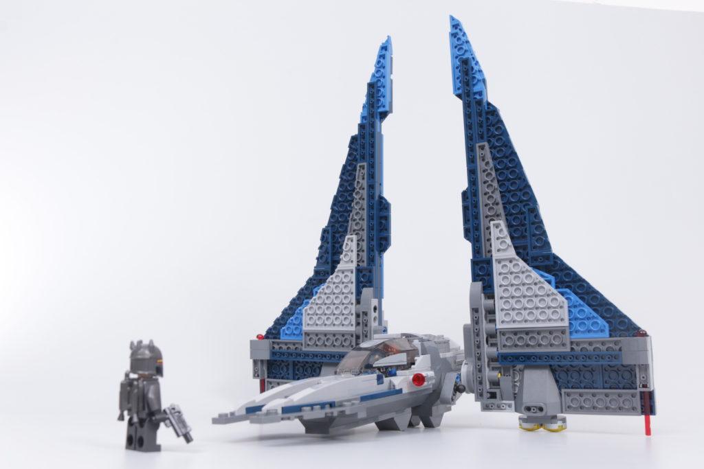 LEGO Star Wars 75316 Mandalorian Starfighter review 14