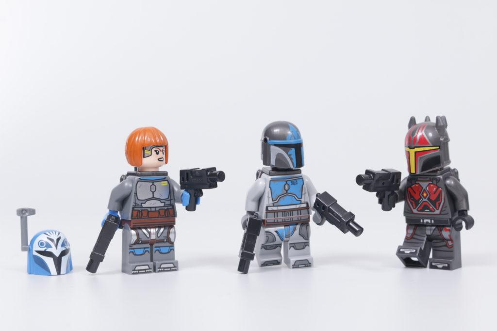 LEGO Star Wars 75316 Mandalorian Starfighter review 29