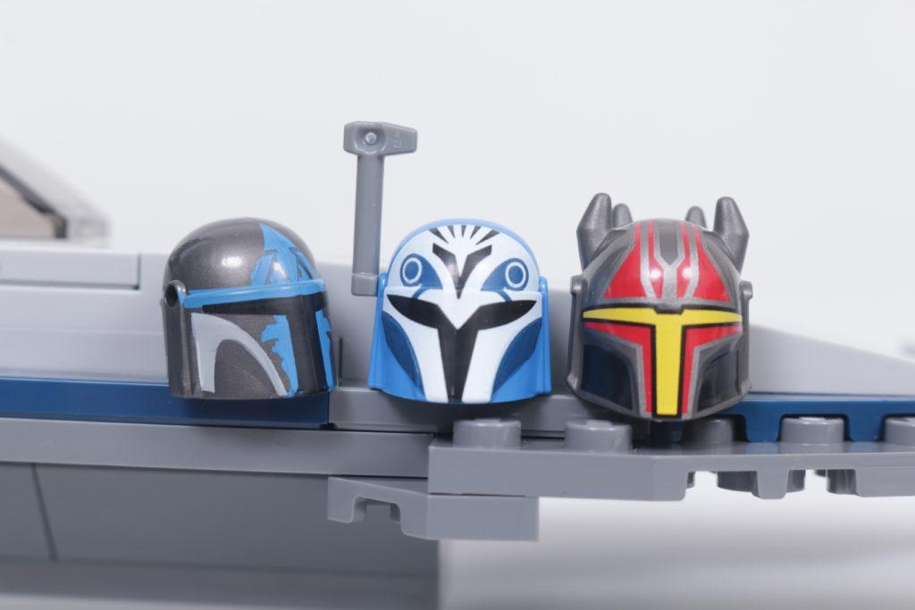 LEGO Star Wars 75316 Mandalorian Starfighter review 30