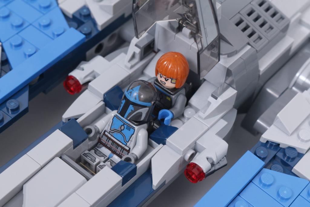 LEGO Star Wars 75316 Mandalorian Starfighter review 6