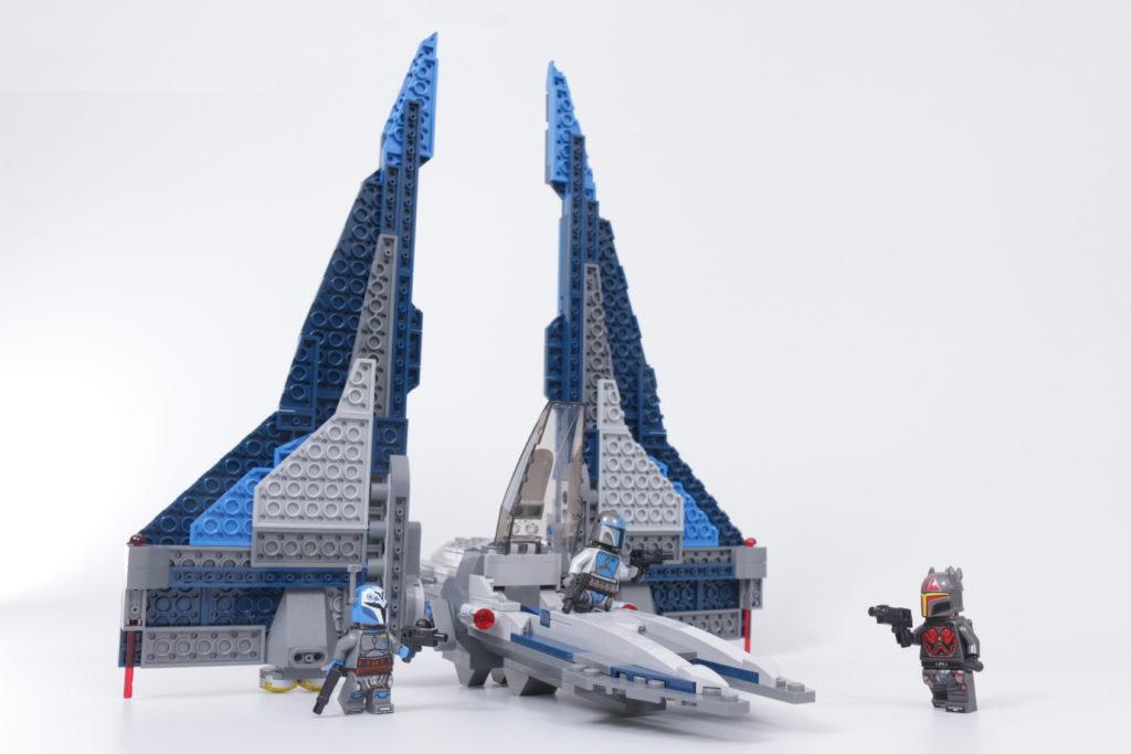 LEGO Star Wars 75316 Mandalorian Starfighter review main