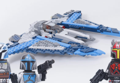 LEGO Star Wars 75316 Mandalorian Starfighter review – brilliant minifigures, misleading photography