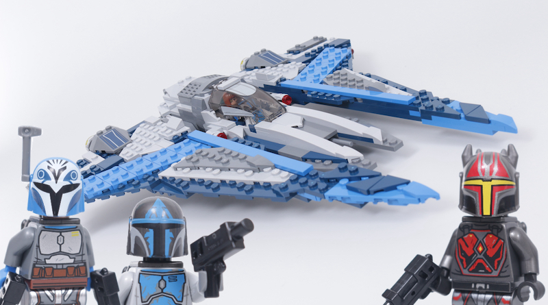 LEGO Star Wars 75316 Mandalorian Starfighter Title