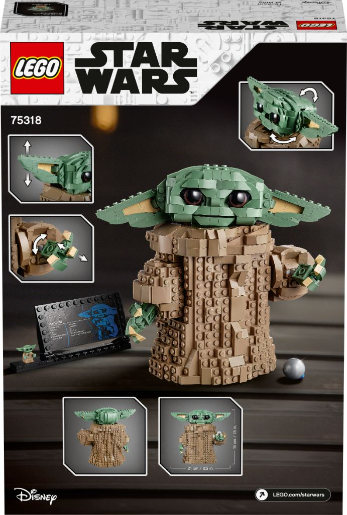 LEGO Star Wars 75318 The Child Baby Yoda Images 10