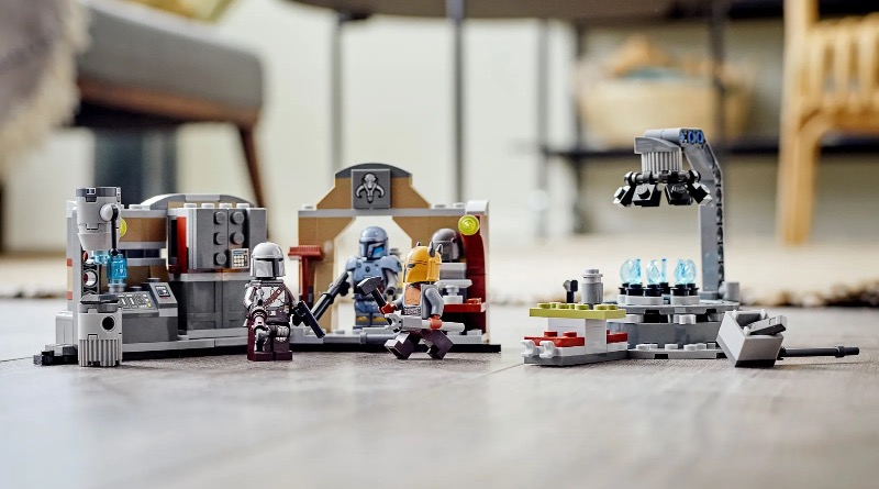 LEGO Star Wars 75319 The Armorers Mandalorian Forge Featured