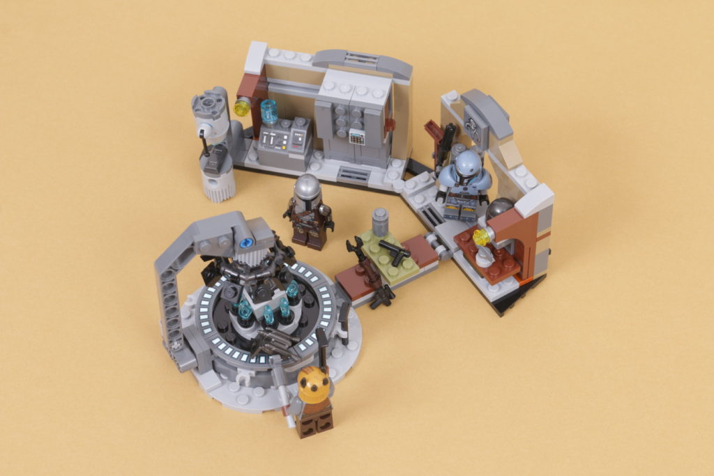 LEGO Star Wars 75319 The Armorers Mandalorian Forge review 37