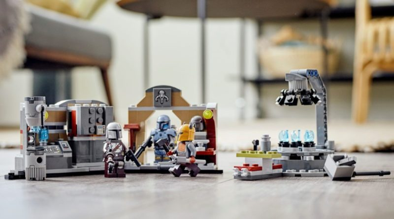 LEGO Star Wars 75319 The Armorers Mandalorian forge lifestyle 1 featured resized