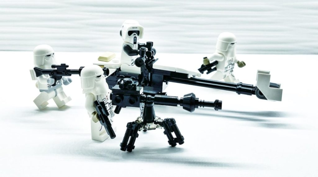 LEGO Star Wars 75320 Hoth Battle Pack concept