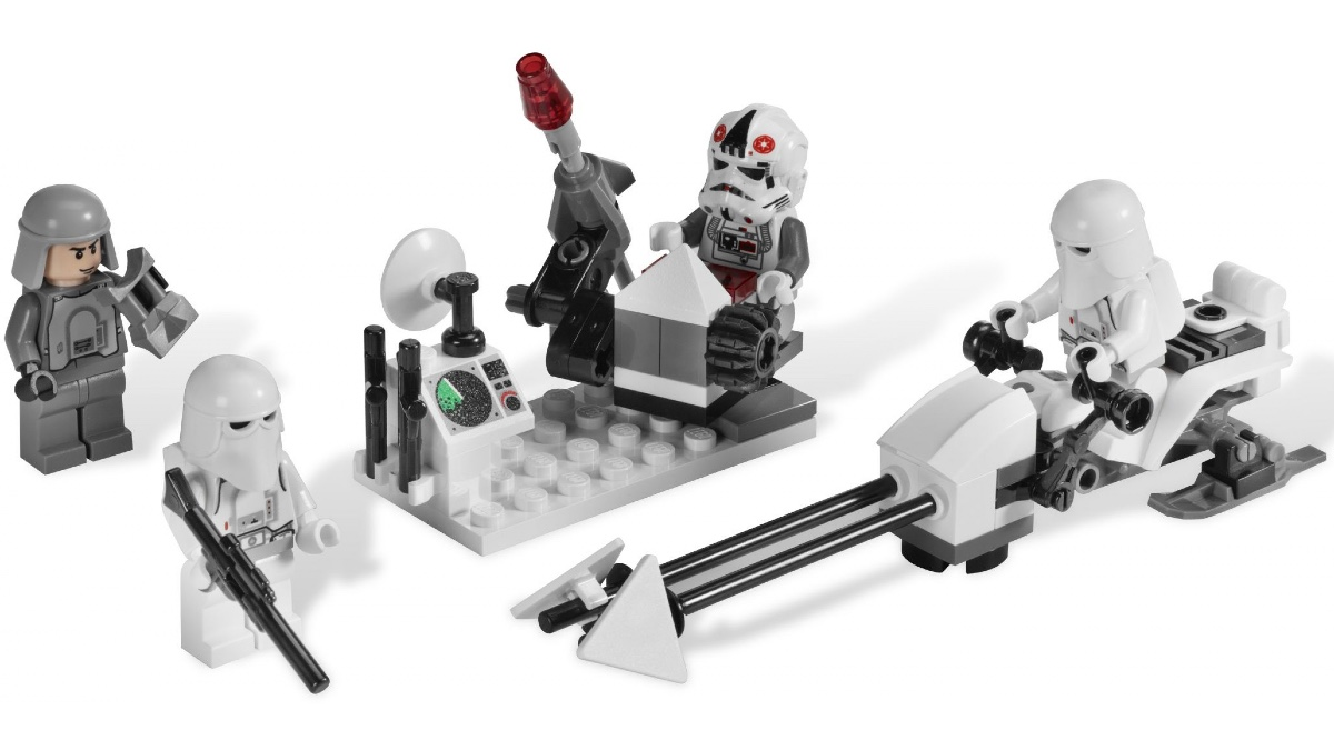 LEGO Star Wars 8084 Snowtrooper Battle Pack Featured