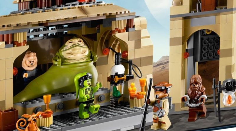 LEGO Star Wars 9516 Jabbas Palace featured 1