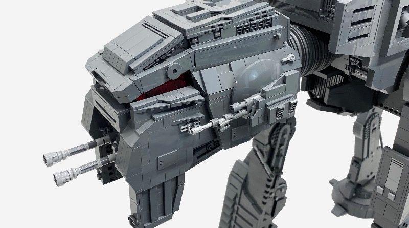 LEGO Star Wars AT M6 Rebel Builder Rian Johnson featured