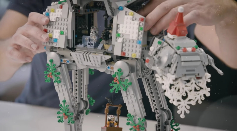 LEGO Star Wars ATA AT Christmas Featured