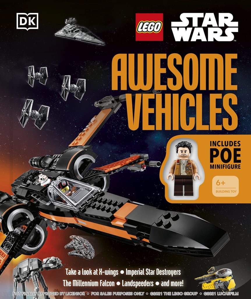 LEGO Star Wars Awesome vehicles book