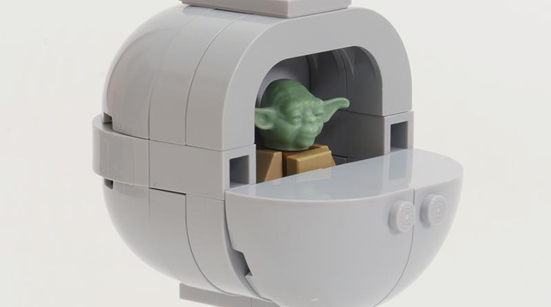 How to build LEGO Baby Yoda