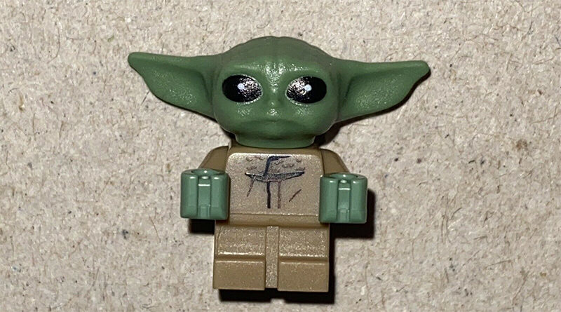 LEGO Star Wars Baby Yoda Figure Featured 800x445