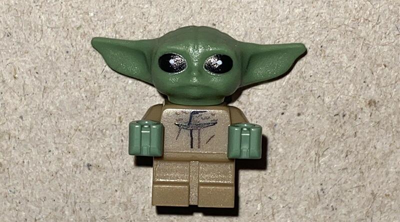 LEGO Star Wars Baby Yoda Figure Featured