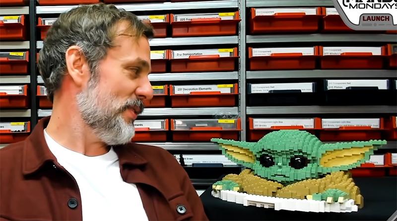 LEGO Star Wars Baby Yoda Statue Featured