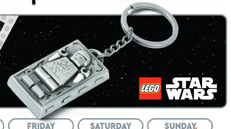 LEGO Star Wars Carbonite Keychain Featured
