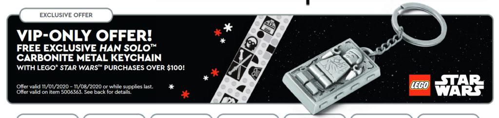LEGO Star Wars Carbonite Keychain