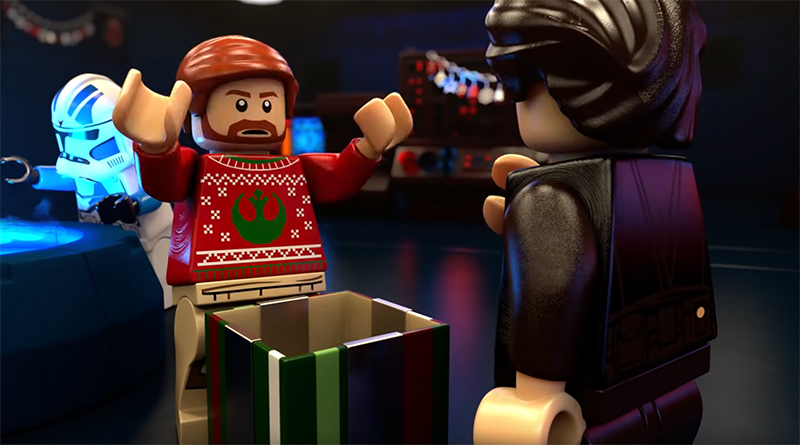LEGO Star Wars Christmas Animation Featured