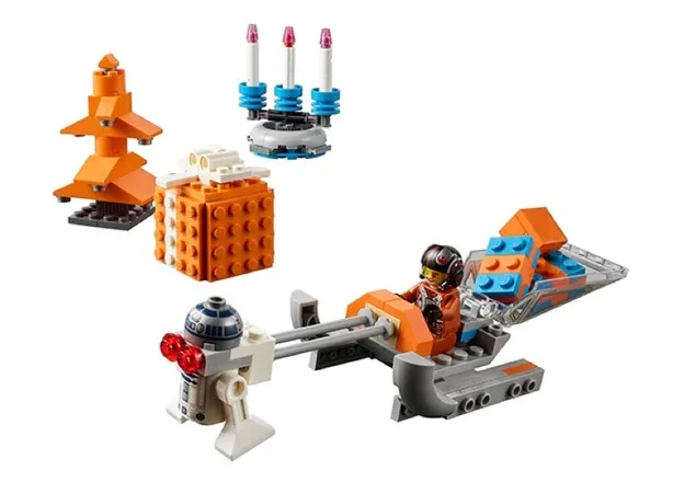 LEGO Star Wars Christmas scene 2