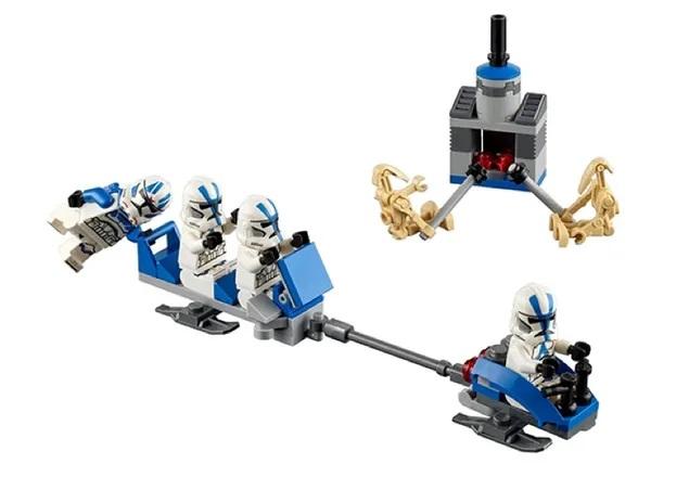 LEGO Star Wars Christmas scene 4