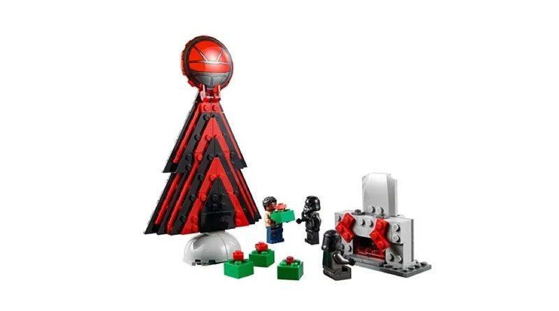 LEGO Star Wars Christmas scene featured
