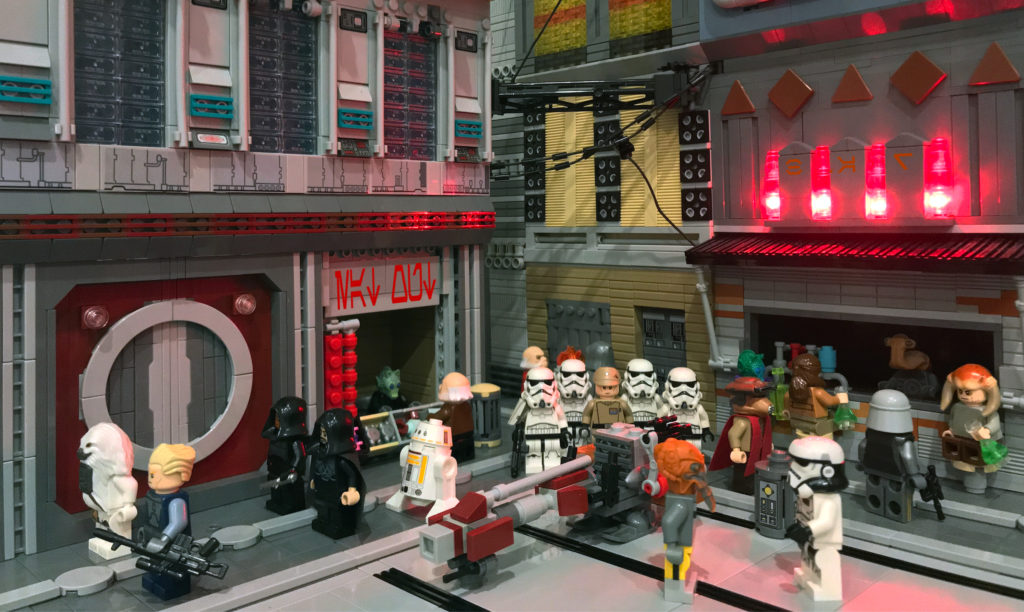 LEGO Star Wars Coruscant Underworld
